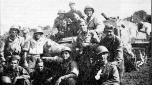 Españoles de la 9ª Compañía.