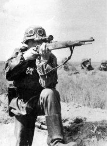 Francotirador alemán.