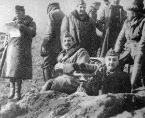 Franco en batalla del Ebro