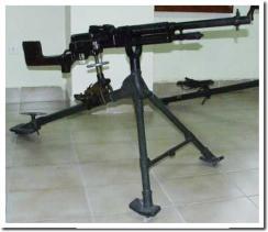 Ametralladora Hotchkiss M1922 para la caballería.