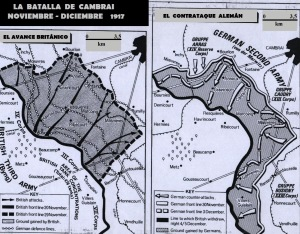 Cambrai mapa