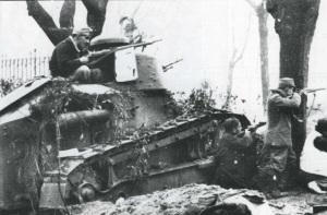 Renault Ft17 en España durante la Guerra Civil