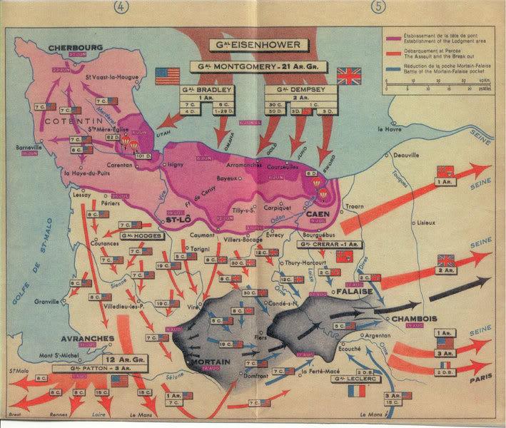 La Batalla De Normandia 1944 Historia Belica