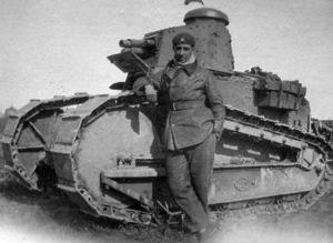 Tanquista ruso durante 1920