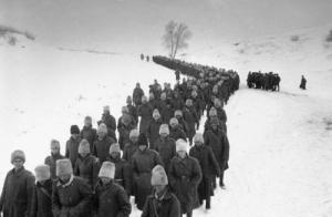 Romanian POWs from Battle of Stalingrad