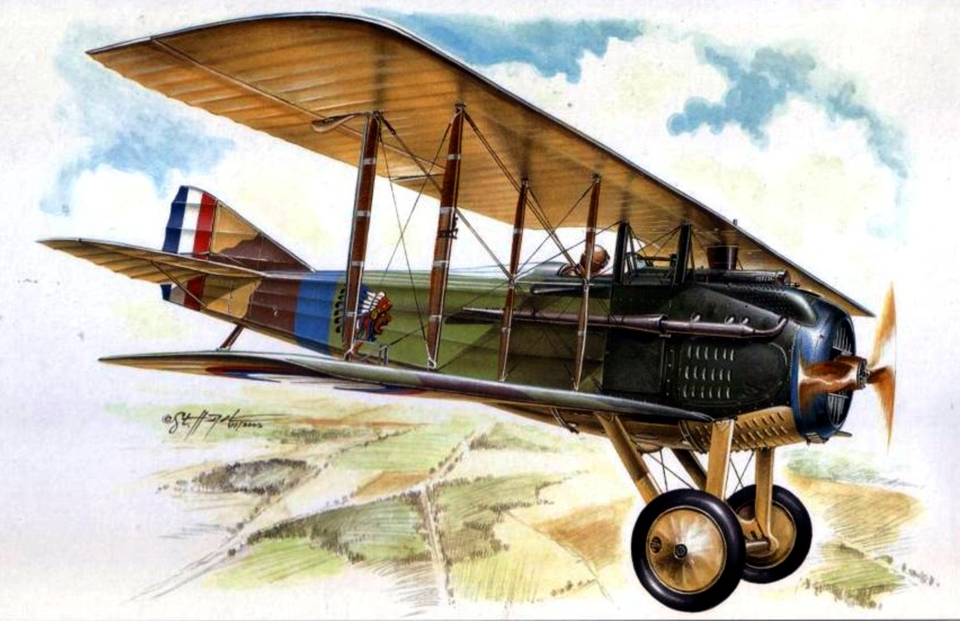 Aviación en la Primera Guerra Mundial (1914-1918) | Historia Bélica