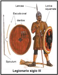 LEgionario Romano siglo III