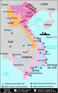 Mapa Guerra de Vietnam