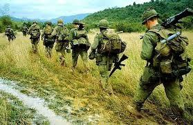 Soldados norteamericanos en Vietnam 2