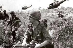 soldados norteamericanos en Vietnam
