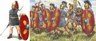 Soldados romanos republicanos