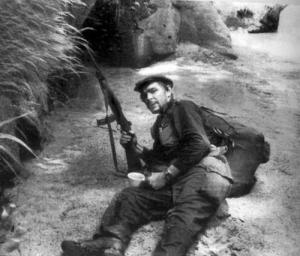 El Che con una carabina M2
