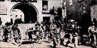 entrada tropas republicanas