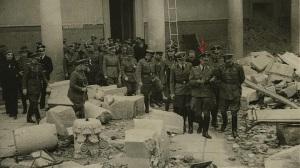 himmler visita el alcazar 1940