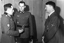 Muñoz Grande con Hitler