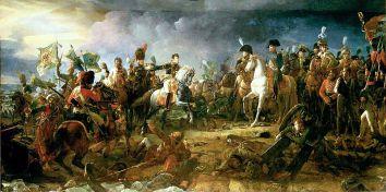 Cuadro de François Gérard, 1810, neoclasicismo. Batalla de Austerlitz