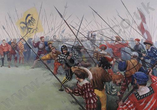 Resultado de imagen de pavia 1525