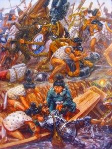 noche triste indigenas contra españoles