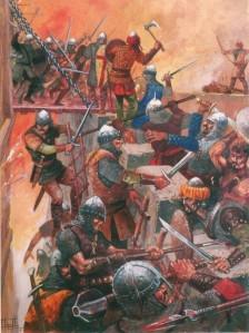 Ataque a las murallas