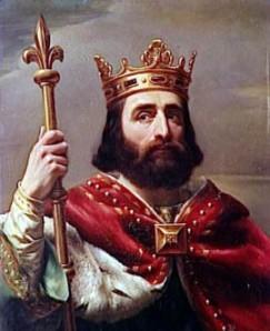 """Carlos Martel ostentaba el puesto de """"Mayordomo"""" de palacio. Este cargo sería hoy como el de """"Primer Ministro"""" o """"intendente"""""""