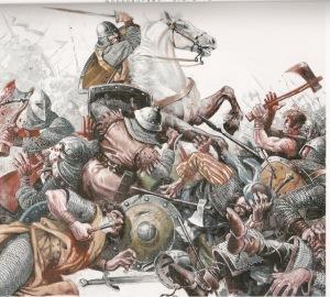 El Cid luchando