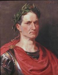 En su testamento nombro como sucesor a Octavio y dejó 300 sestercios para cada ciudadano de Roma.