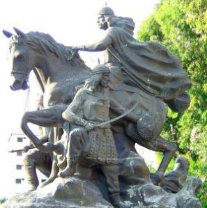 Estatua de Saladino.
