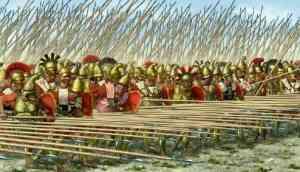 Falanage macedonica