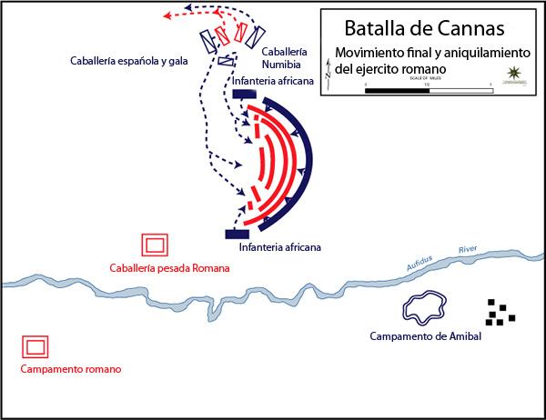 Resultado de imagen de batalla cannas