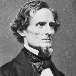 Jefferson David, el único presidente de los Estados Confederados de América.