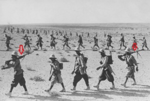 Soldados italianos Breda