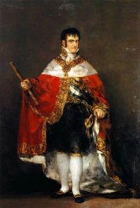 Fernando VII. Sin duda el rey más nefasto de la historia de España.