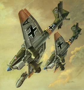Ju87 B Stukas
