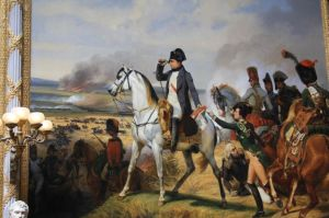 Palacio-de-versalles-cuadro-la-batalla-de-waterloo-napoleon