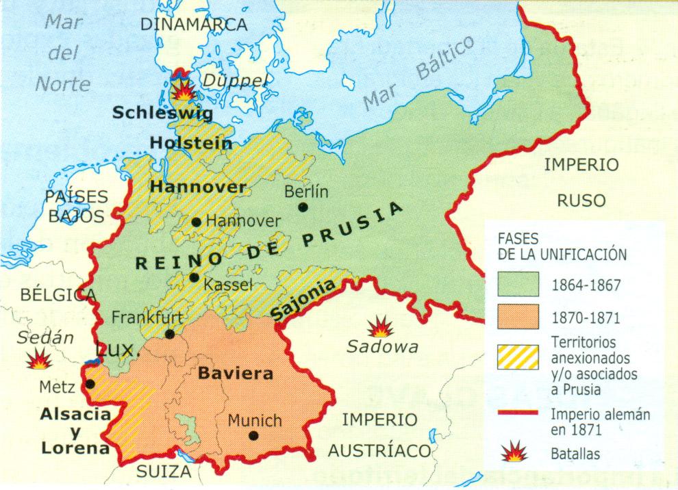 dinamarca y alemania mapa