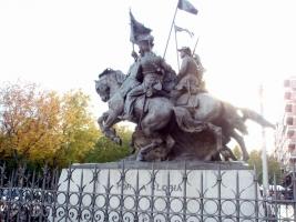 Monumento al regimiento Alcántara.