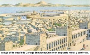 Reconstrucción de Cartago.