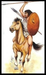 Famosa caballería númida.