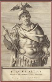"""Flavio Aecio. """"El Último Romano""""."""