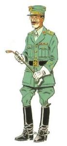 (4) Capitán en Uniforme de Paseo. 1943-66