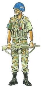 (6) Cabo en Uniforme de Servicio en Verano.