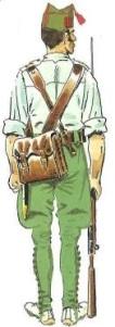 (6) Legionario en Uniforme de Campaña en Verano. 1925-38