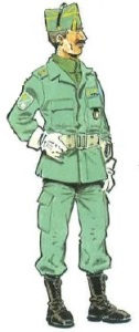 (4) Comandante en Uniforme de Trabajo. 1991-94