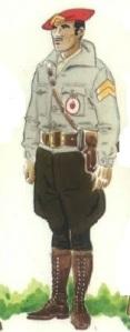 (4) Brigada de la Columna  Redondo. 1937