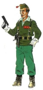 (1) Teniente