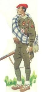 (5) Soldado de las Brigadas Navarras. 1936