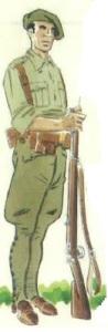 (6) Voluntario de las Brigadas Navarras. 1936