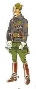 (1) Teniente Coronel. 1934