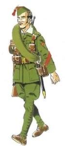 (6) Cabo en Uniforme de Marcha. 1933-1939