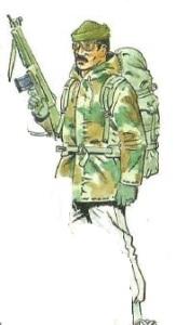 (5) Legionario con Uniforme de Nieve.